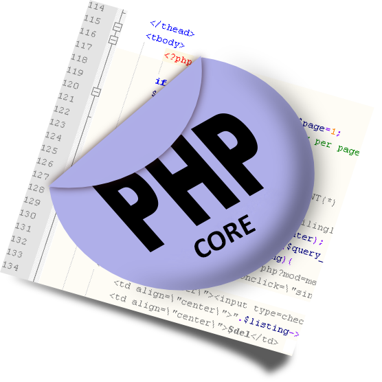 Core Php Web Development Services
